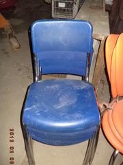 Пластиковая  мебель для летней площадки б/у.